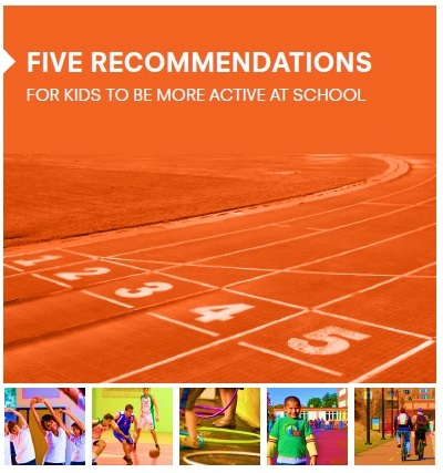Five Recommendations For Kids To Be More Active At School